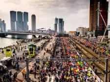 Geen coronatoegangsbewijs nodig voor de Marathon Rotterdam, wél op de Coolsingel