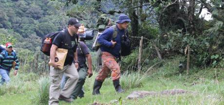 Nederlandse experts op zoek naar resten Lisanne en Kris