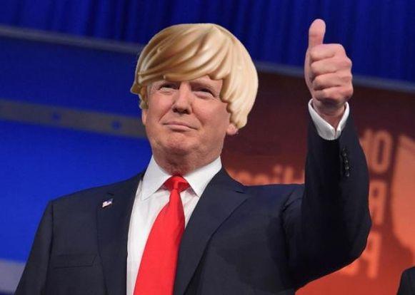 Het idee van de 'Trump-helm' was snel geboren.