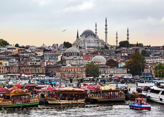 Archieffoto van Istanbul.