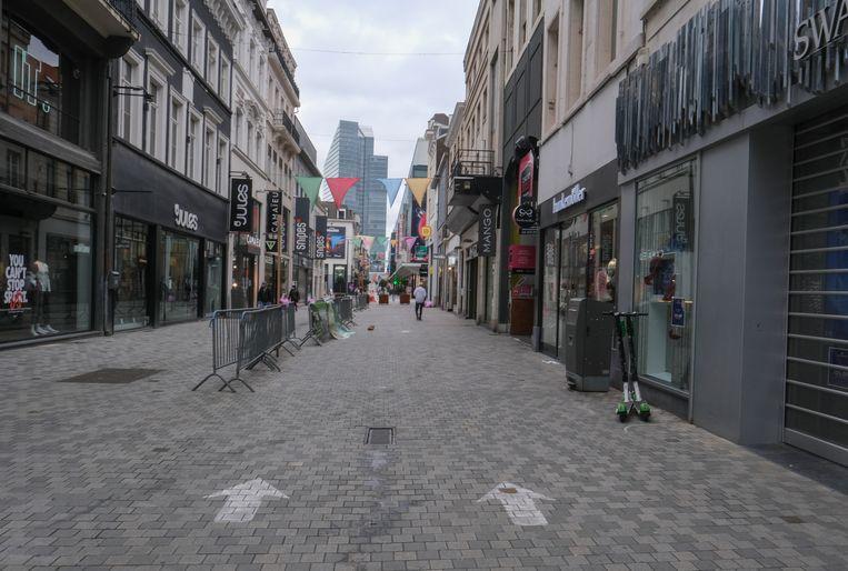 Beeld ter illustratie. De Brusselse Nieuwstraat. Beeld EPA