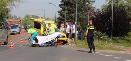 Vrouw gewond na val met scooter in Harmelen