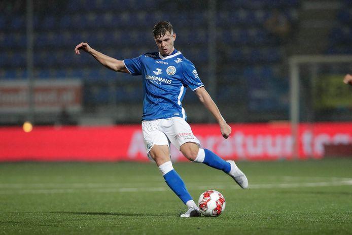 Alexander Laukart in actie voor FC Den Bosch.