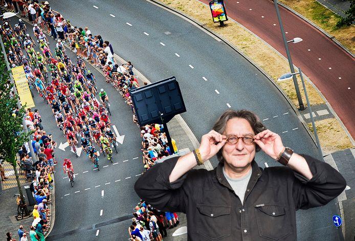 Kees Thies juicht het plan om de Grand Départ van de Tour de France naar Rotterdam te halen van harte toe. Maar het enthousiasme vanuit de Dordtse politiek geeft hem een dubbel gevoel.