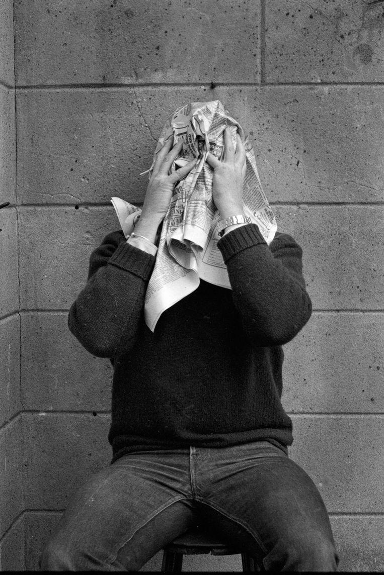 Zelfportret, 1987 Beeld Eddy Posthuma de Boer