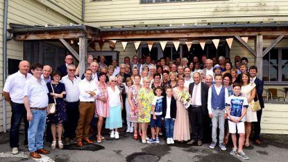 Feest met Jeannine en Victor in zaal Parasol