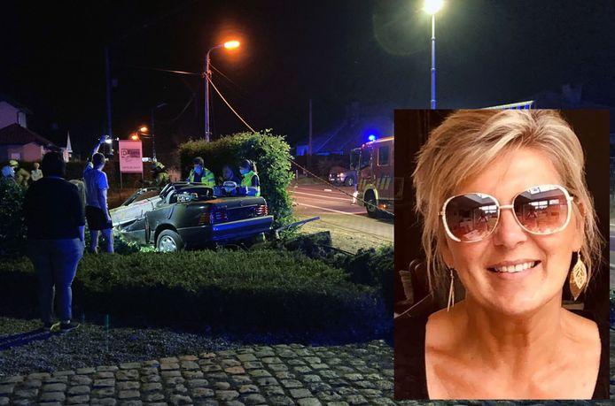 Paula stierf door de klap van de betonnen paal op de wagen.