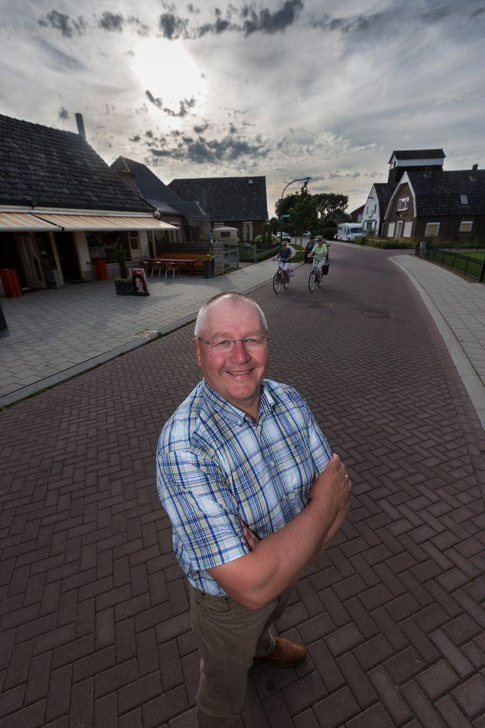Ap Dieker in zijn dorp Loil in 2015.