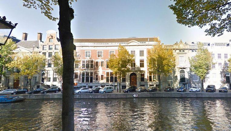 Het Amsterdamse kantoor van InsingerGilissen Bankiers op de Herengracht. Beeld Google Streetview