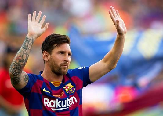 Lionel Messi heeft voor dit seizoen opnieuw de Champions League als het grote doel gesteld.