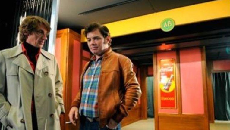 In de categorie tv-fictie maakt 'Oud België', naar een verhaal van de hoofdrolspelers Peter Van den Begin en Stany Crets, kans op de prijs. Beeld UNKNOWN