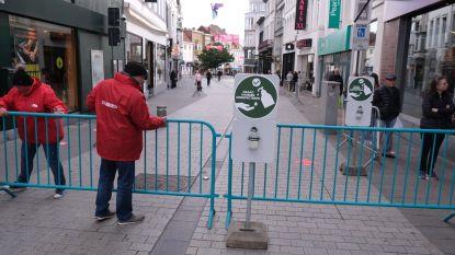 Handelszaken weer open, maar overrompeling blijft uit in winkelwandelgebied in Kortrijk