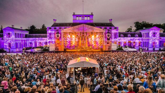 BLØF op Royal Park Live bij Paleis Soestdijk in Baarn.