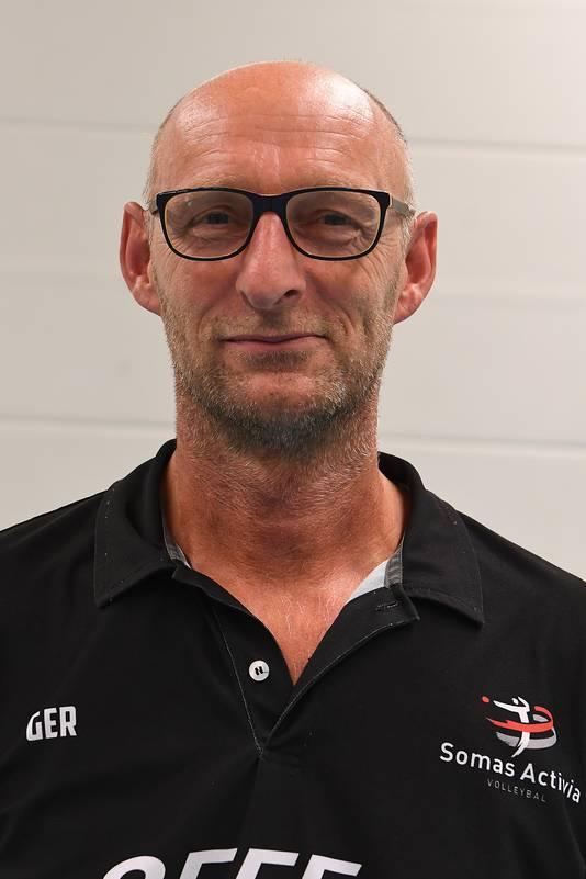 Activia-trainer Ger van Heugten
