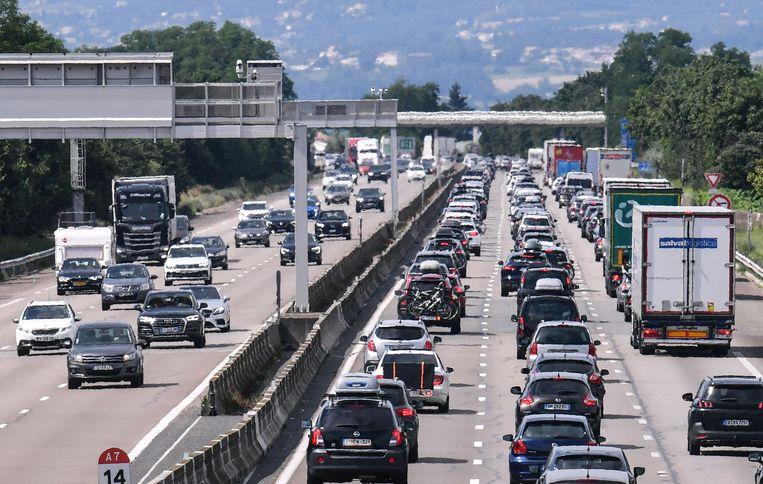 Frankrijk maakt zich klaar voor 'zwarte zaterdag' op de wegen Beeld AFP
