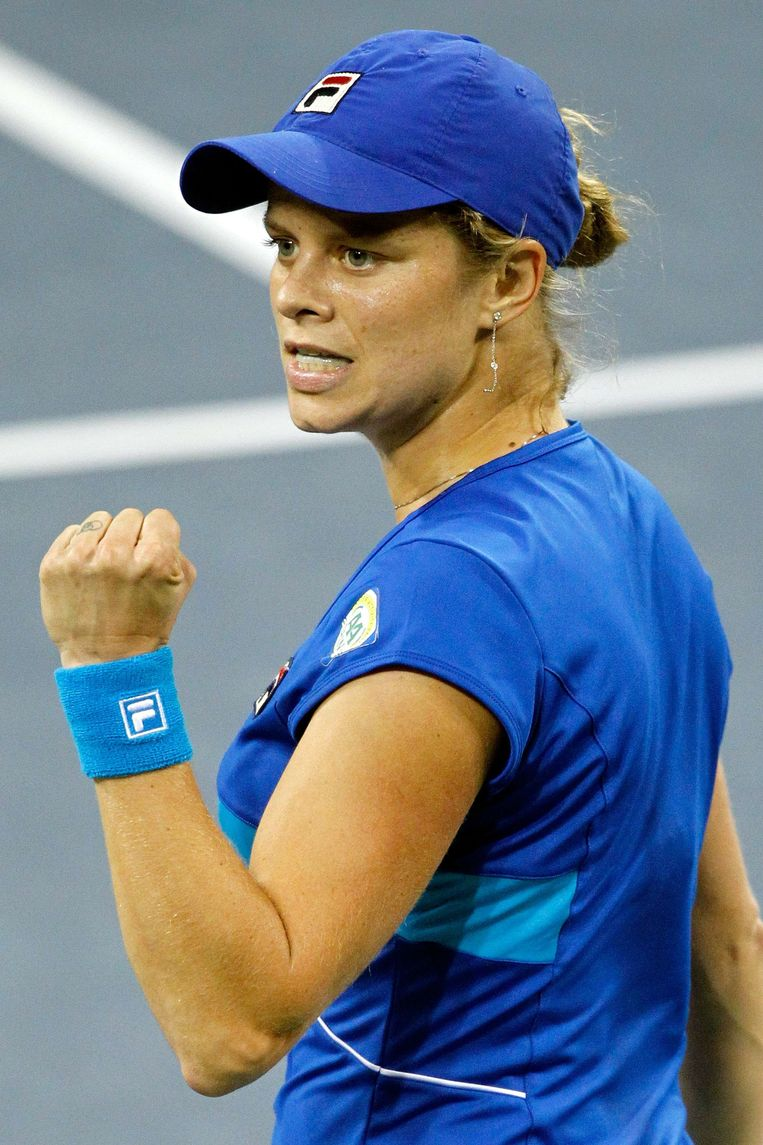 Kim Clijsters zal vanaf volgend jaar terug te zien zijn op het professionele WTA-circuit. Beeld AFP