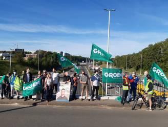 """Groen voert actie tegen plannen voor Brusselse Ring: """"Bredere Ring trekt extra auto's aan, kilometerheffing is juiste oplossing"""""""