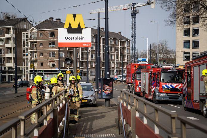 Bij de brand kwam veel rook vrij. Sommige passagiers hebben die ingeademd.
