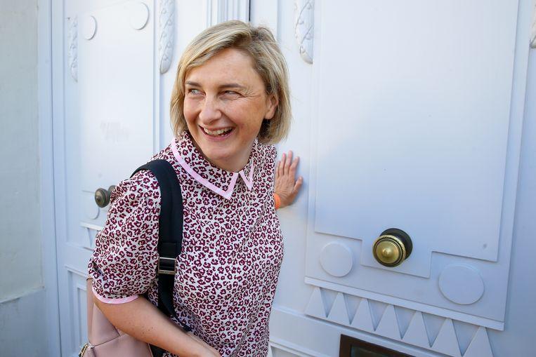 Vlaams minister van Onderwijs Hilde Crevits. Beeld BELGA
