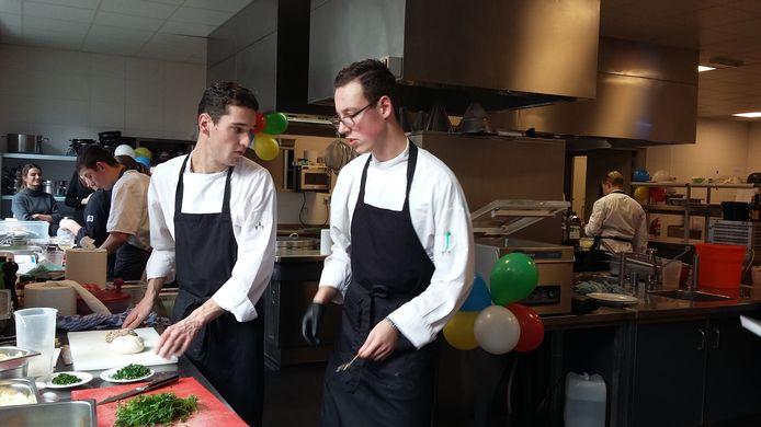 Het team van Parc Spelderholt uit Beekbergen, winnaars in de categorie catering.