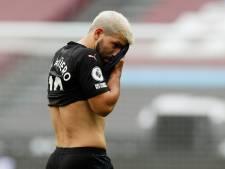 Agüero zeker enkele weken uit de roulatie bij Manchester City