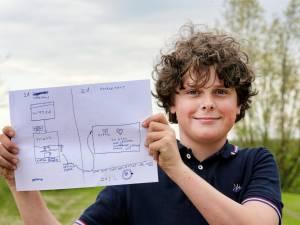 'Uitvinder' Hidde (11) bedenkt nieuwe koffiemachine en wordt uitgenodigd door Philips: 'Zo gaaf!'