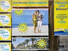 Vakantiegeld gaat op aan... reizen