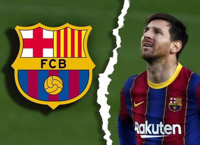 Het einde van een tijdperk: Messi vertrekt bij Barcelona