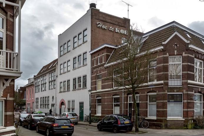 De melkfabriek in de Guldenvliesstraat