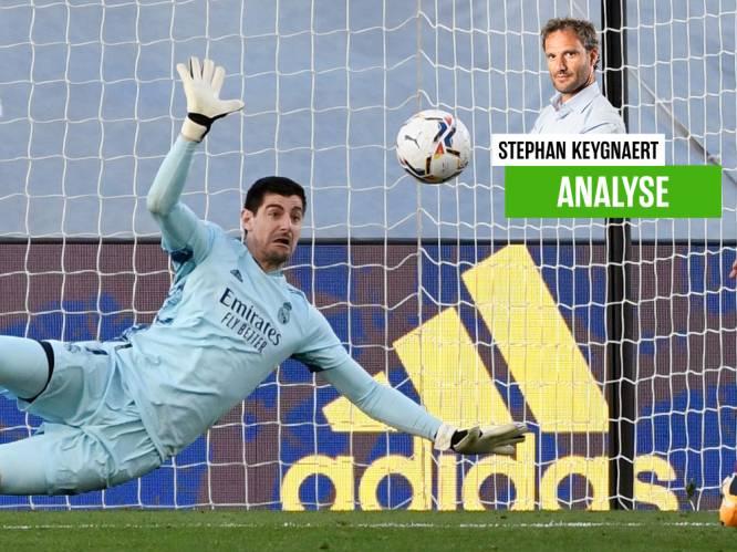 """Onze chef voetbal zag hoe heroïsche Courtois de monden deed openvallen: """"Hij neemt steeds meer de rol over van Ramos"""""""