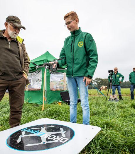 Gruttonestjes worden overgeslagen op Natuurinitiatievendag in Geesteren