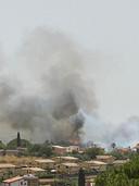 Archiefbeeld van een natuurbrand nabij Noto