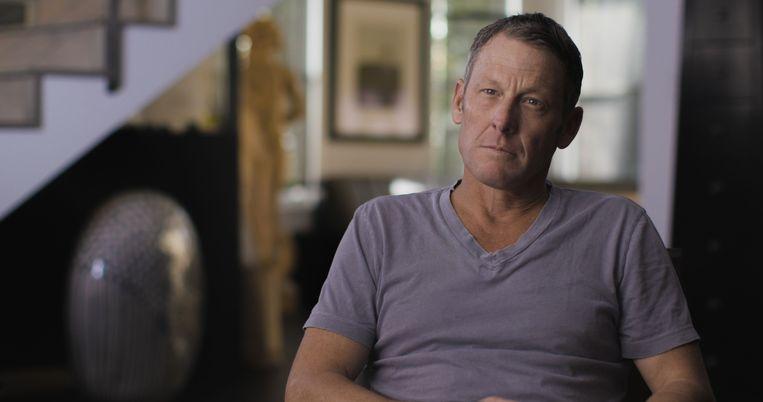 Lance Armstrong in de documentaire. Beeld ESPN