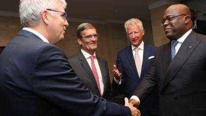 """Congolese president lonkt naar Belgische ondernemers: """"We zijn een nieuw tijdperk binnengetreden"""""""