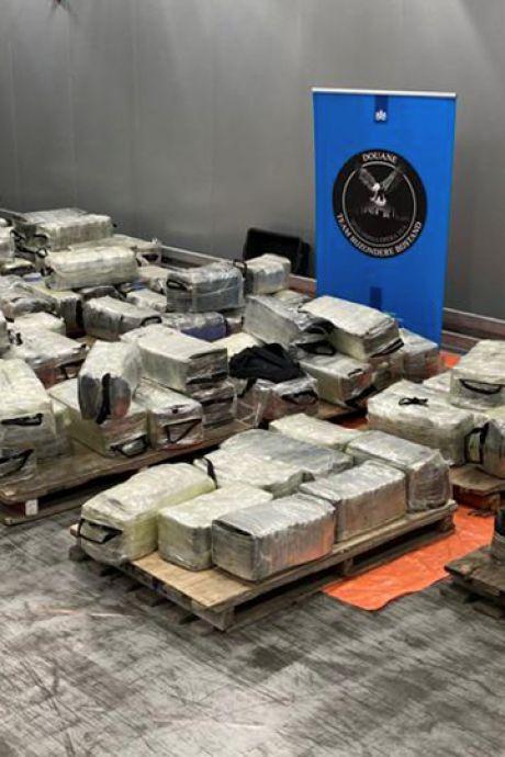 Megavangst cocaïne in Rotterdamse haven: straatwaarde van 301 miljoen euro