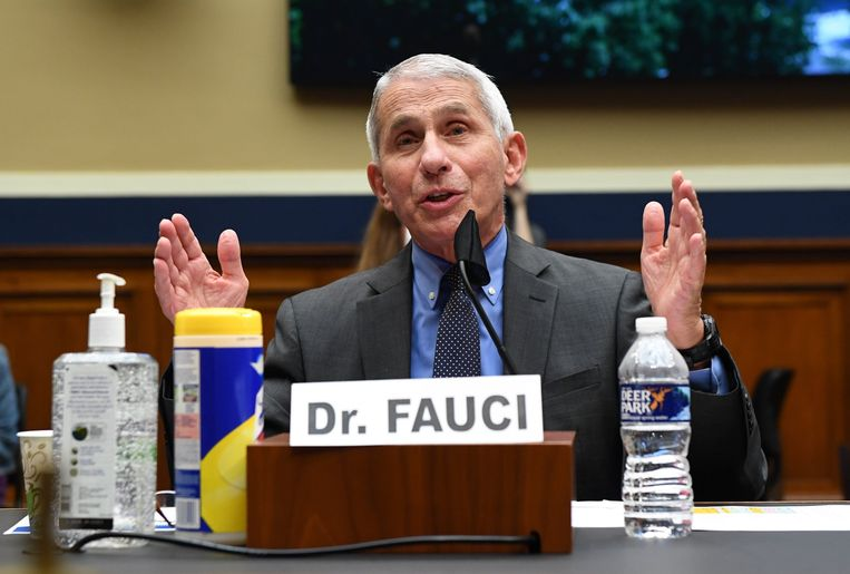 Dokter Anthony Fauci.