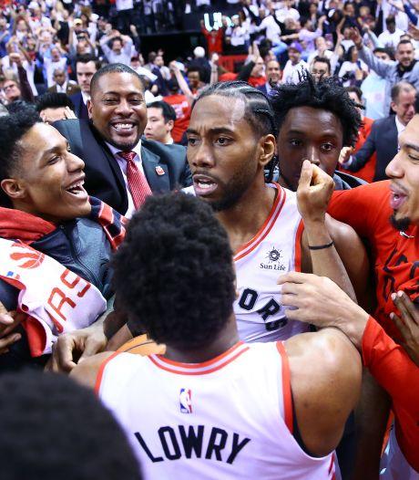 Raptors naar finale in oosten NBA na bizar schot in de zoemer