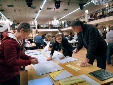 Leerdam gaat de stemmen van twee stembureaus opnieuw tellen na telfouten bij VVD en VHL Lokaal