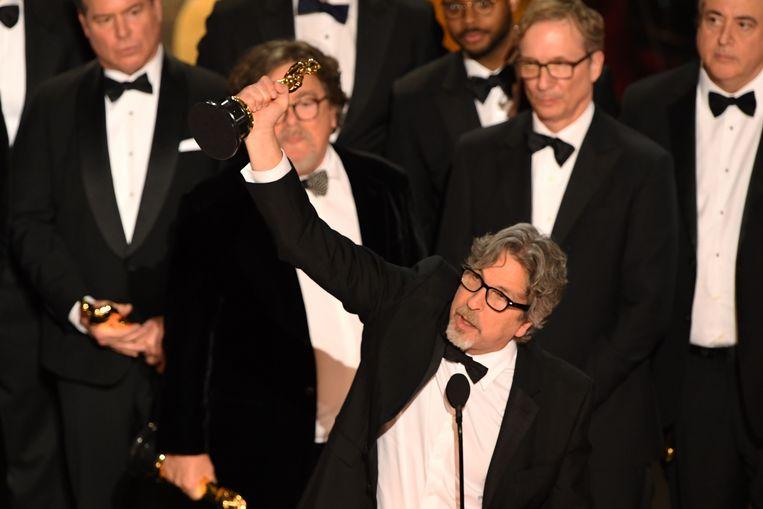 De Amerikaanse regisseur Peter Farrelly won een Oscar voor zijn film Green Book. Beeld AFP