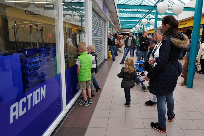 Action-winkels zijn populair.