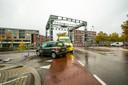 Aanrijding in Eindhoven.