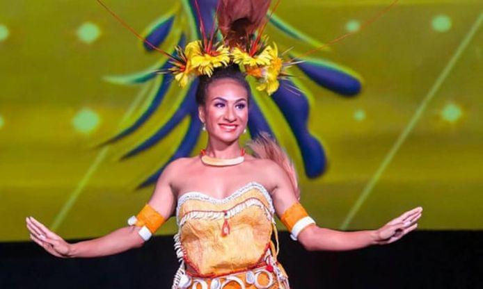 Lucy Maino won in 2019 de missverkiezing in haar land.