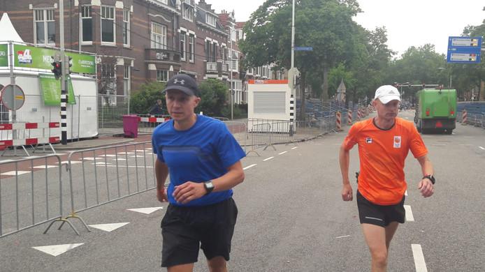 Paul Jansen (46) en Martin Averesch (40) op de Wedren.
