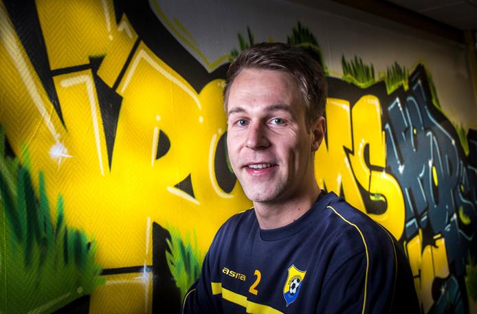 Andjin van Veen beleeft een mooi seizoen met Vroomshoopse Boys.