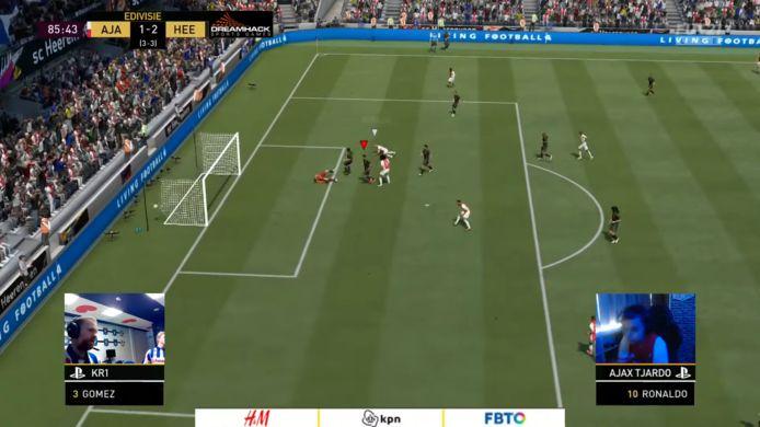 Ajax blijft ongeslagen in de eDivisie. Ook in speelronde 4 maakten de Amsterdammers geen fout, al haperde het soms wel tegen Heerenveen.