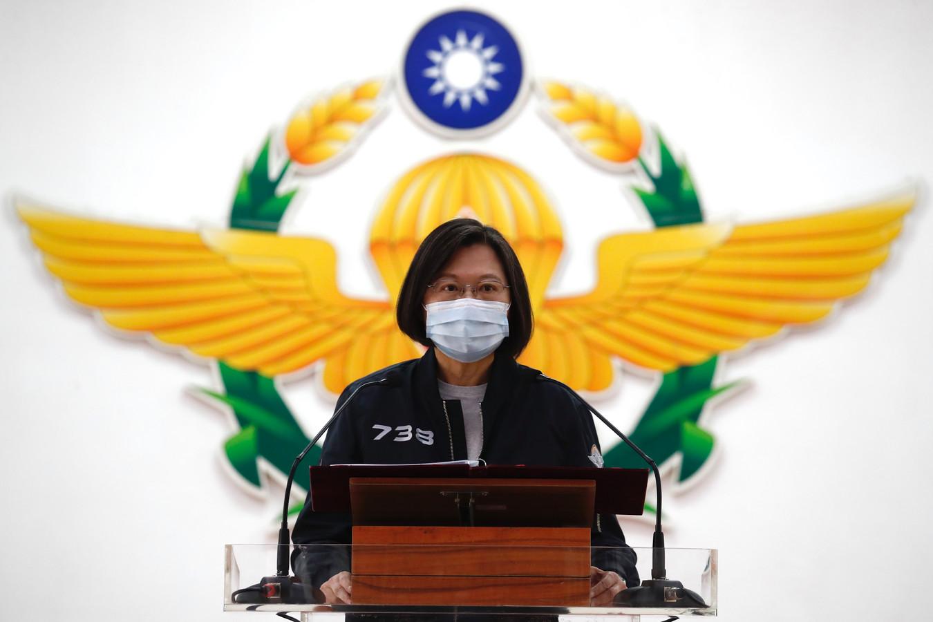 La présidente taïwanaise Tsai Ing-wen. Son parti milite traditionnellement pour l'indépendance formelle de l'île.