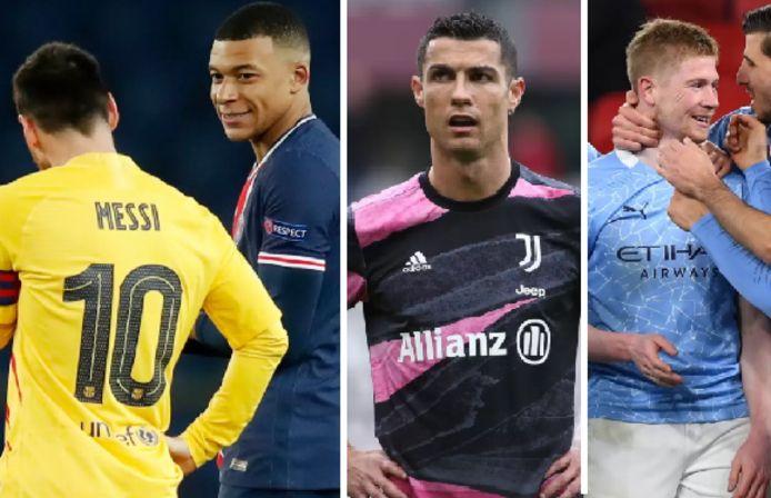 Lionel Messi, Kylian Mbappé, Cristiano Ronaldo et Kevin De Bruyne: fin de saison à enjeux pour les stars du football mondial