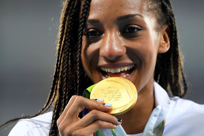 Nafi Thiam, médaillée d'or aux Jeux de Rio en 2016