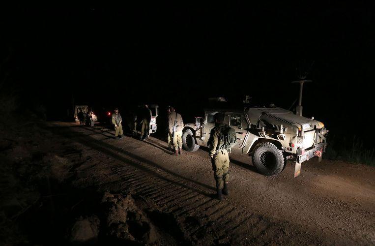 Israëlische militairen op de Golanhoogte. Archieffoto.