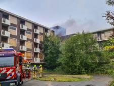 Brand in oud bejaardenhuis in Rheden, vermoedelijk door brandstichting